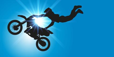 MOTO acrobatique