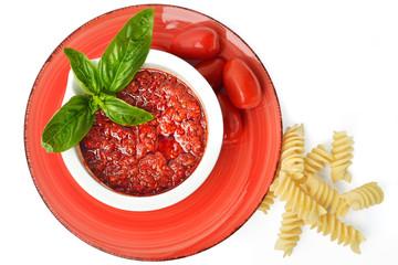 salsa di pomodoro e pasta