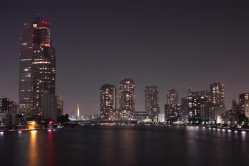 都市 夜 繁栄