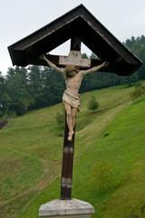 Crucifix in Skofja Loka