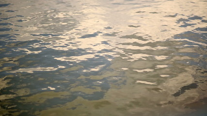 Mirrored Water Surface