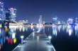 night cityscape of modern city