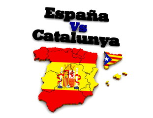 España vs Catalunya