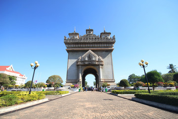 Patuxai Victory Monument, Vientiane Laos