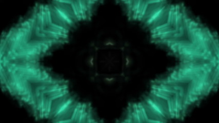 Green flowing VJ Loop Abstract Animated Background