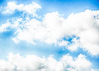 background of sky