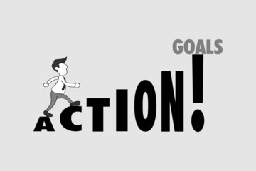 action for goals