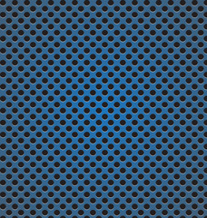 circle perforated carbon speaker grill texture vector illustrati