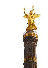 The Siegessaule is the Victory Column located on the Tiergarten