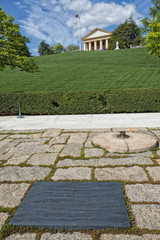 JFK Memorial at Arlington Cemetery