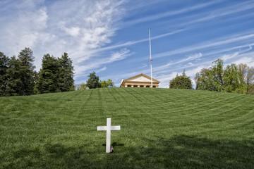 JFK Memorial at Arlington Cemetery