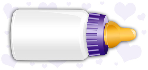 Purple Baby Bottle
