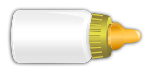 Yellow Baby Bottle