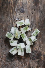 Mint ice cube