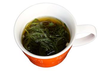 茎わかめスープ