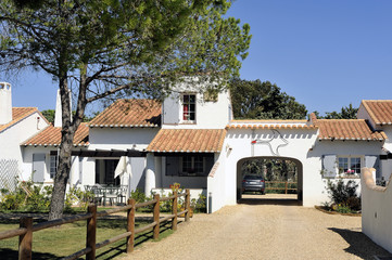 House in the Camargue style