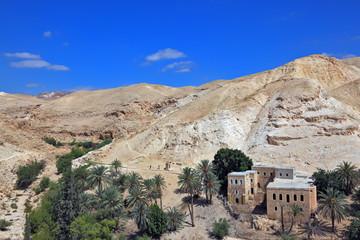 Wadi Kelt, near Jerusalem