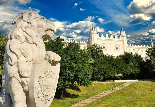 Medieval royal castle in Lublin, Poland - 70381812