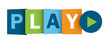 """PLAY"" button (watch video media player phone social)"