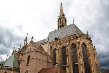 La collégiale st Thiébaut de Thann, Alsace, Haut Rhin