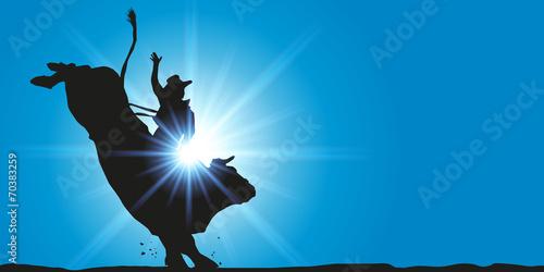RODEO taureau - 70383259