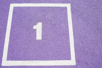 juegos de números en el suelo