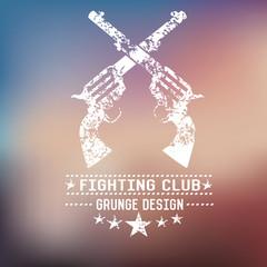 Gun grunge design,vector