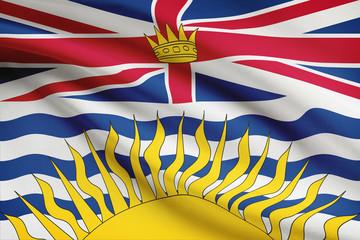 Canadian provinces flags series - British Columbia