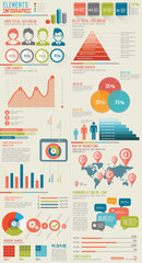 Infographic Elements,Data analysis concept