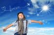 im Sommer in Urlaub fliegen