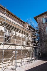 Travaux rénovation église Castelnau-de-Montmiral