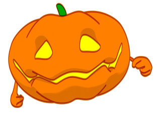 Fun pumpkin