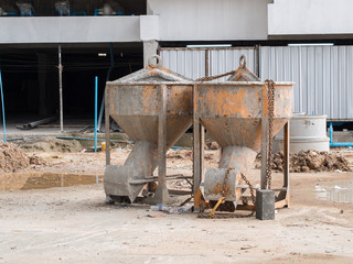 cement tank for construction