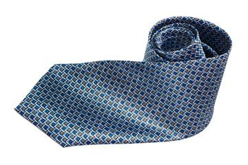 a checkered necktie