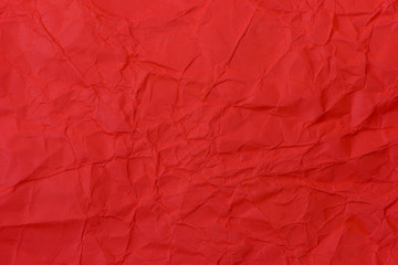 Red mussy paper background