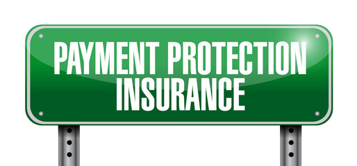 payment protection insurance sign illustration