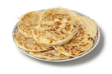 Dish with Moroccan Razat El Quadi