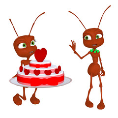 Ant in love