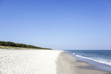 Beach at the Polish Baltic coast