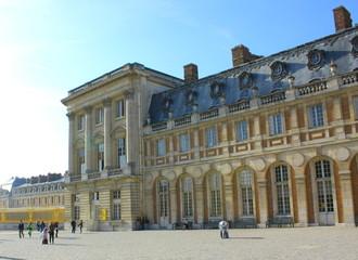 ベルサイユ宮殿、正面入り口