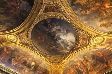 ヴェルサイユ宮殿、ヴィーナスの間、天井絵