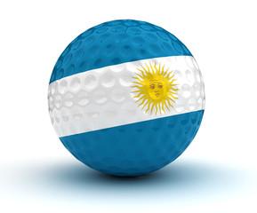 Argentinian Golf Ball