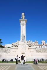 Monumento a los cortes, Plaza de Espana, Cadix