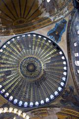 Cupola of Hagia Sofia, Istanbul, Turkey