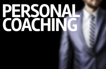 Personal Coaching written on a board