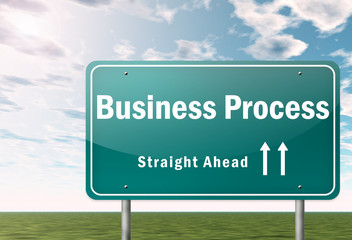 Highway Signpost Business Process