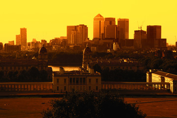 Greenwich Park, Canary Wharf, Wren's Architecture