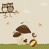 Cartoon card