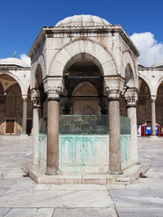 Blue Mosque, Ablution fountain