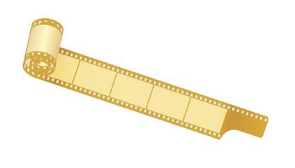 Filmrolle, goldbraun